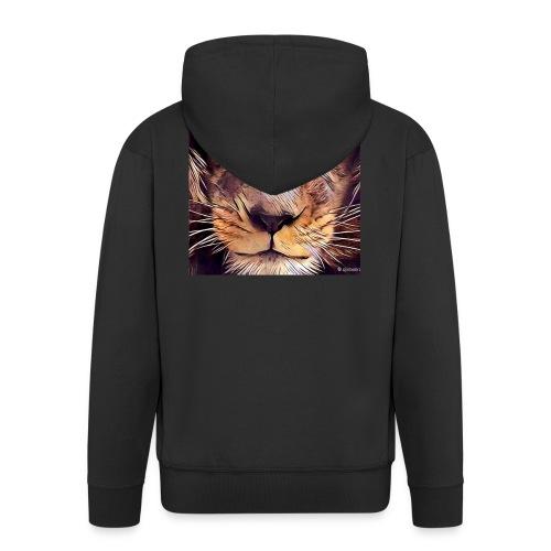 leon - Chaqueta con capucha premium hombre