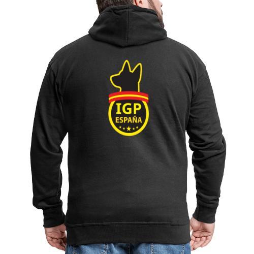 IGP España - Chaqueta con capucha premium hombre