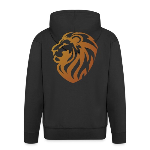 Bronze lion - Veste à capuche Premium Homme