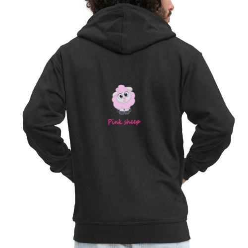 pink sheep - Männer Premium Kapuzenjacke