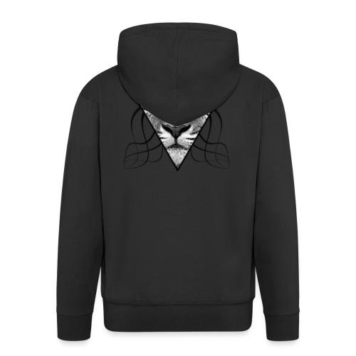 Grey Tiger - Männer Premium Kapuzenjacke