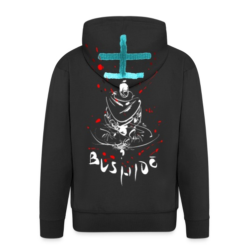 Bushido - Der Weg des Kriegers - Men's Premium Hooded Jacket
