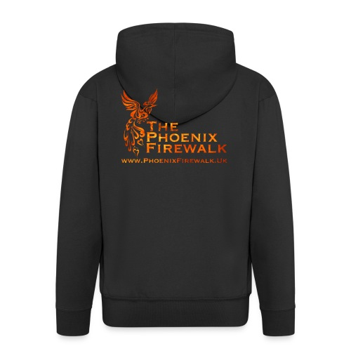 Main Logo Web - Men's Premium Hooded Jacket