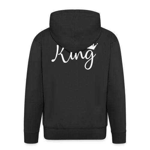 King - Chaqueta con capucha premium hombre