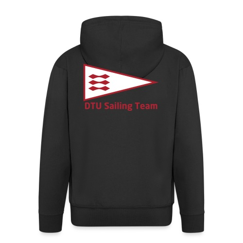 DTU Sailing Team Official Workout Weare - Men's Premium Hooded Jacket