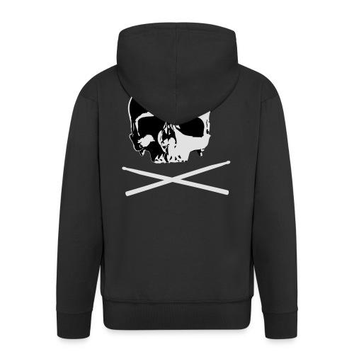 skull and sticks - Männer Premium Kapuzenjacke