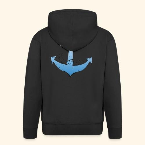 Be my anchor weiß Herren - Männer Premium Kapuzenjacke