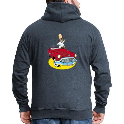 Herr Bohnemann im Buick - Männer Premium Kapuzenjacke