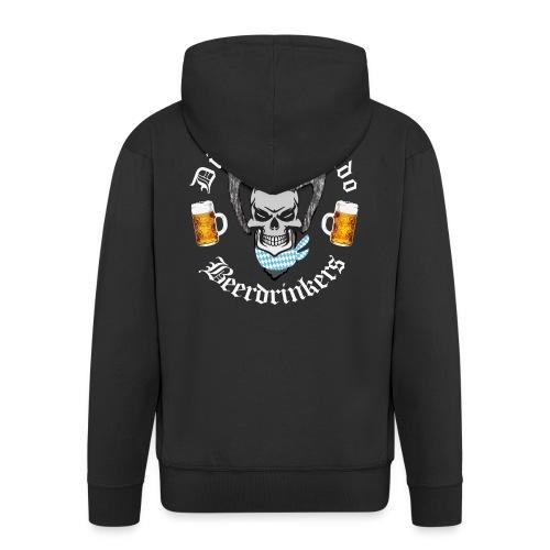 Diabolo-Rapido-Beerdrinkers - Männer Premium Kapuzenjacke