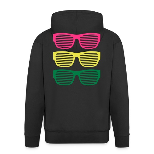 Sonnenbrillen Sommer strahlend taghell ultra cool - Men's Premium Hooded Jacket