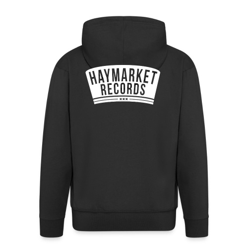 haymarketWHITE - Mannenjack Premium met capuchon