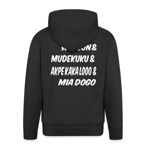 WOEZON MDEKUKU AKPE MIA DOGO - Veste à capuche Premium Homme