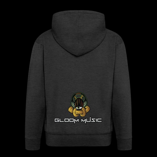 GLOOM MUSIC LOGO COLOR - Men's Premium Hooded Jacket