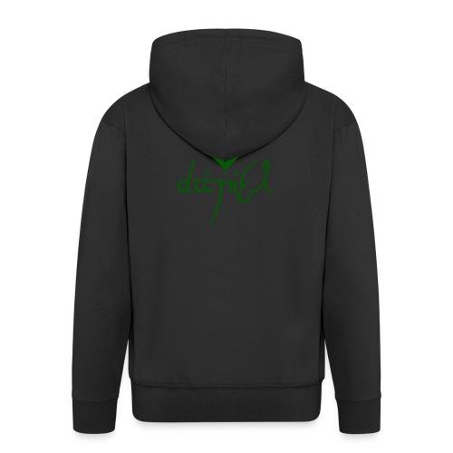 Cup logo Dan - Men's Premium Hooded Jacket