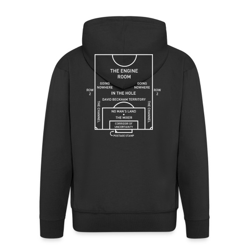 Football Pitch.png - Men's Premium Hooded Jacket