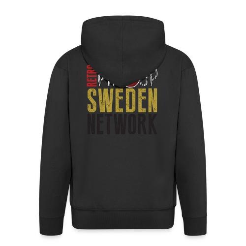 Tanktop Retro Pinup Sweden Crew utsvängd - Premium-Luvjacka herr