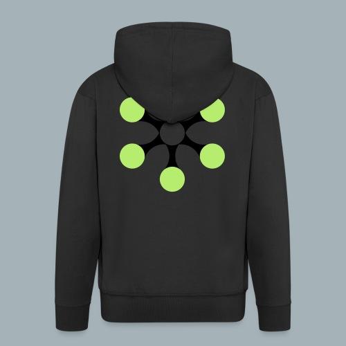 Star Bio T-shirt - Mannenjack Premium met capuchon