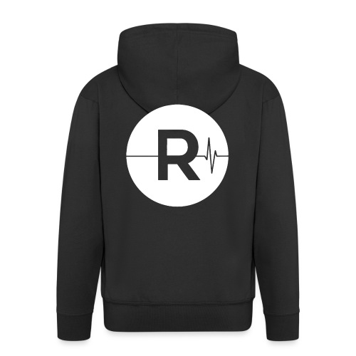 REVIVED - BIG R - Men's Premium Hooded Jacket