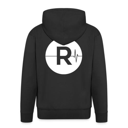 REVIVED - BIG R - Men's Premium Hooded Jacket