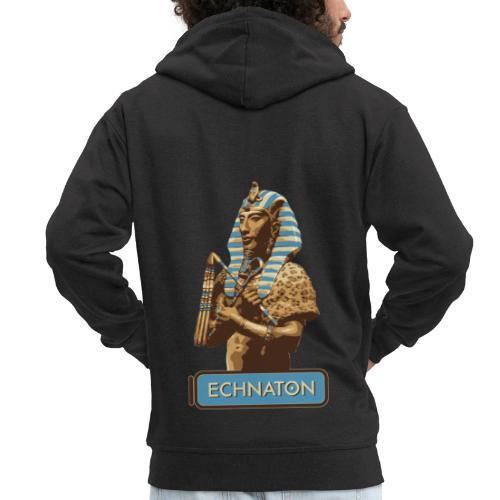 Echnaton – Sonnenkönig von Ägypten - Männer Premium Kapuzenjacke