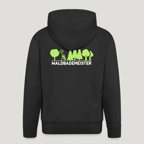 Waldbademeister fürs Waldbaden und Waldbad - Männer Premium Kapuzenjacke