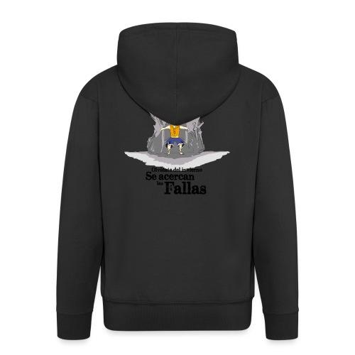Camiseta hombre: Se acercan las fallas - Chaqueta con capucha premium hombre