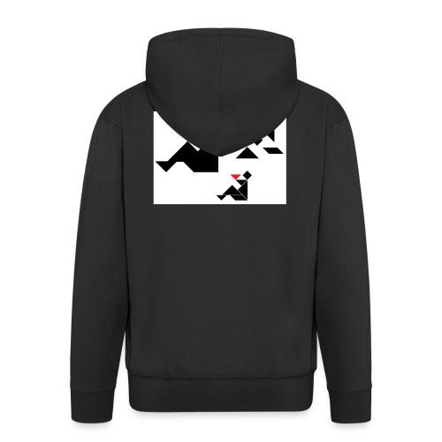 sreadshirt-catalogo-Uomo_con_coppa - Veste à capuche Premium Homme