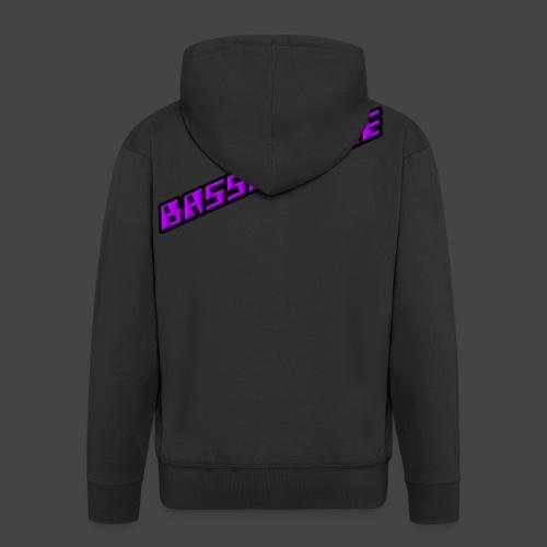 Bassphemie - Magenta - Männer Premium Kapuzenjacke