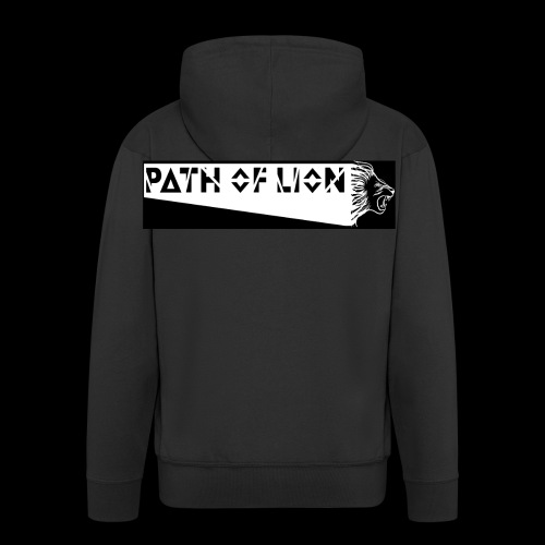Path_of_Lion - Männer Premium Kapuzenjacke