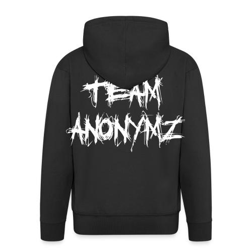 Team Anonymz - Männer Premium Kapuzenjacke