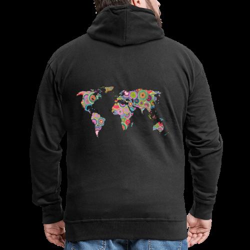 Hipsters' world - Men's Premium Hooded Jacket