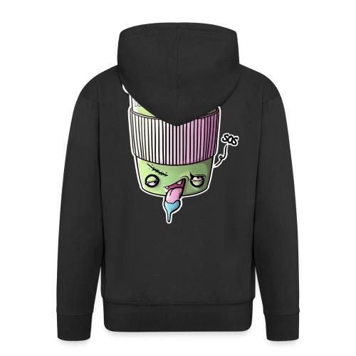 Zombie Coffee - Männer Premium Kapuzenjacke