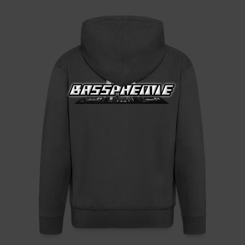 Bassphemie - Bassphemie Logo - Männer Premium Kapuzenjacke