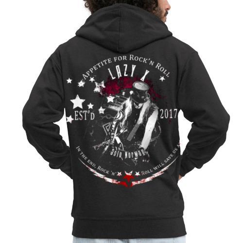 Lazy X Live - Men's Premium Hooded Jacket