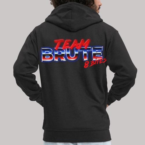 Team BRUTE Red - Men's Premium Hooded Jacket