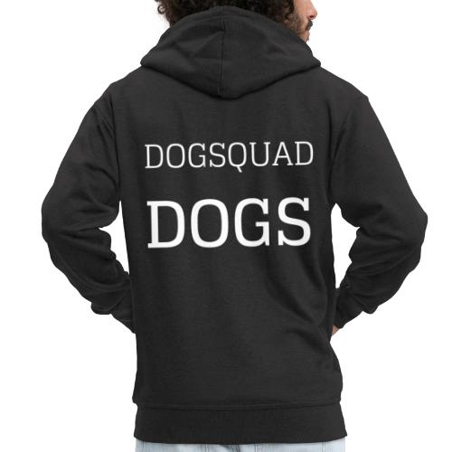 DOGS QUAD - Men's Premium Hooded Jacket