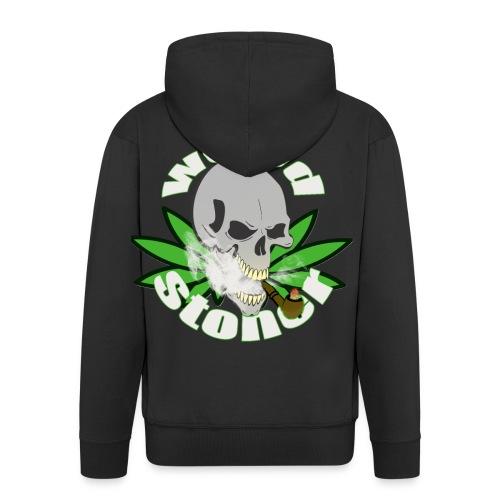 weed stoner - Veste à capuche Premium Homme