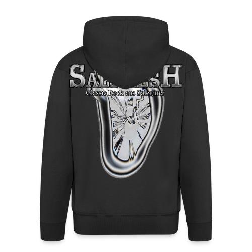 Saltmesh Logo Transparent groß png - Männer Premium Kapuzenjacke