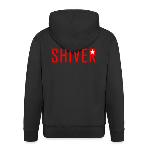 Shiver Logo - Men's Premium Hooded Jacket