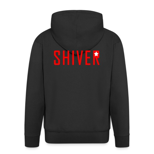 Shiver Logo - Men's Premium Hooded Jacket