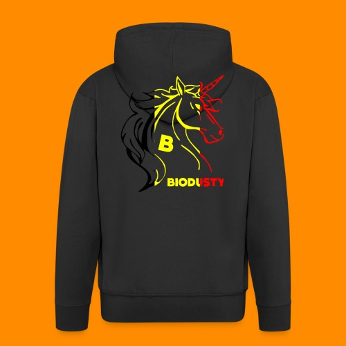 belgian biodusty unicorn hoodie unisex - Mannenjack Premium met capuchon
