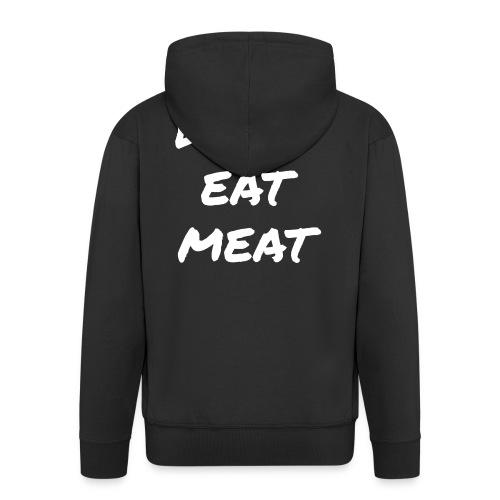 Dont Eat Meat - Männer Premium Kapuzenjacke