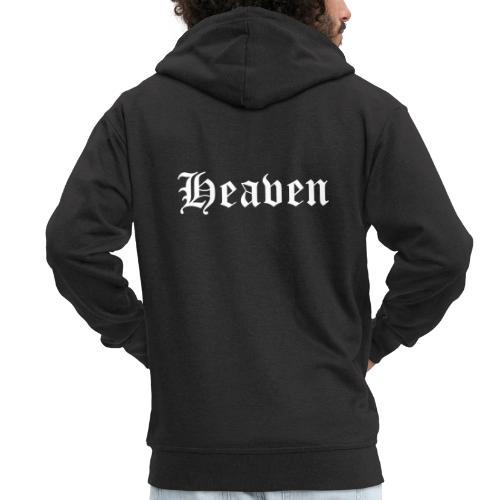 Heaven - Men's Premium Hooded Jacket