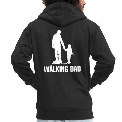 Walking Dad, Rahmen - Männer Premium Kapuzenjacke