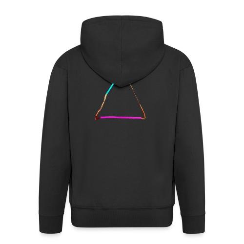 3eck - Dreieck - triangle - Männer Premium Kapuzenjacke