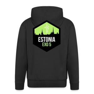EXO5 tallinn - Men's Premium Hooded Jacket