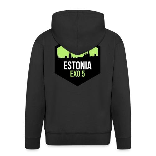 EXO5 tallinn - Men's Premium Hooded Jacket