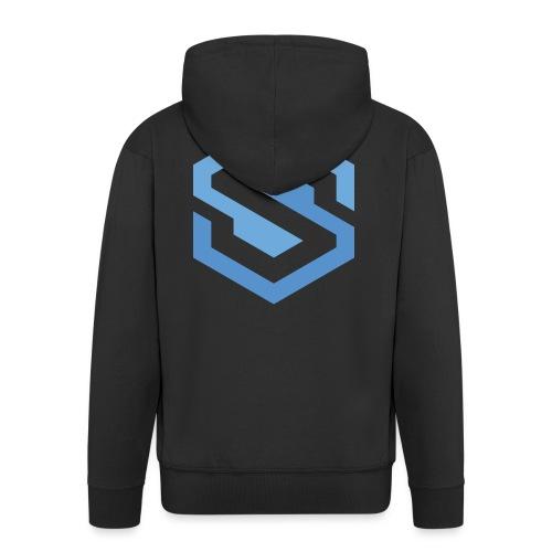 safecoin mark - Men's Premium Hooded Jacket
