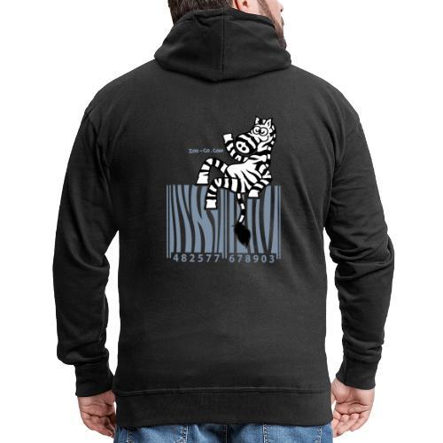 Zebra Code - Men's Premium Hooded Jacket