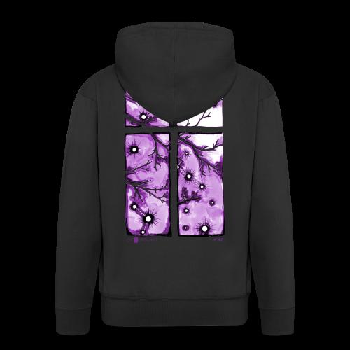 Für immer und ein Tag (violett) - Männer Premium Kapuzenjacke